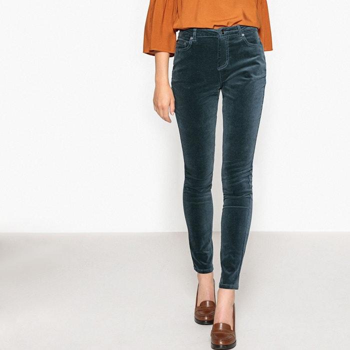 Pantalon slim velours La Redoute Collections