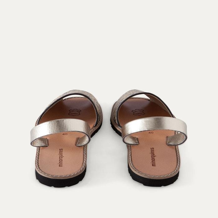 Sandales plates bicolores AVARCA RAFIA - MINORQUINES - BlancMinorquines aOCs2cdM