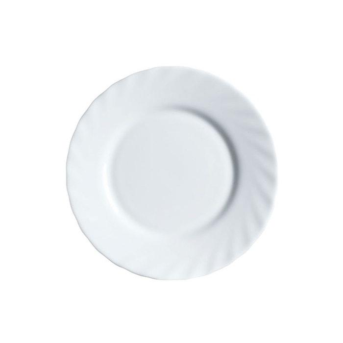 assiette a pain 15 5 cm trianon blanc luminarc la redoute. Black Bedroom Furniture Sets. Home Design Ideas