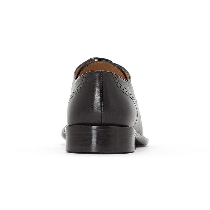 piel Derbys de Zapatos Redoute con Collections La cordones qn4pCWFt