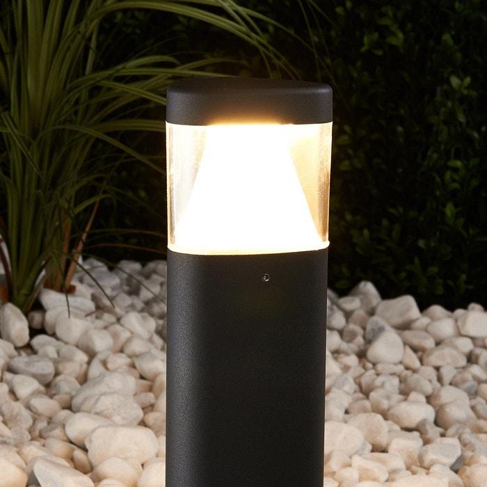 luminaire pour socle led milou gris fonc anthracite transparent lampenwelt la redoute. Black Bedroom Furniture Sets. Home Design Ideas