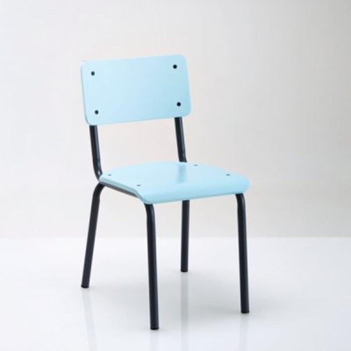 Image Chaise style écolier, vintage, Buton La Redoute Interieurs