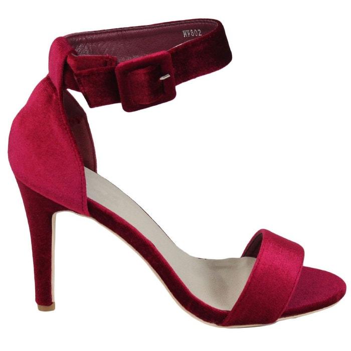 Escarpins ww802 rouge Kebello