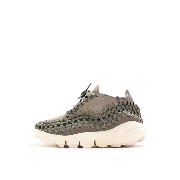 Basket air footscape woven  gris Nike  La Redoute