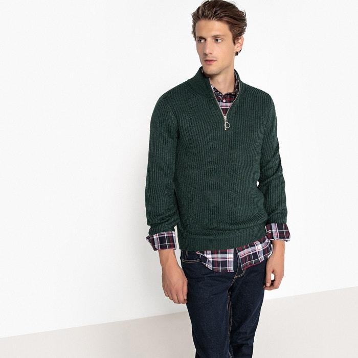Pull collo alto in maglia grossa  La Redoute Collections image 0