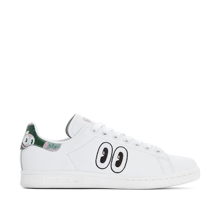 321b0629071 Zapatillas de piel stan smith w blanco Adidas Originals