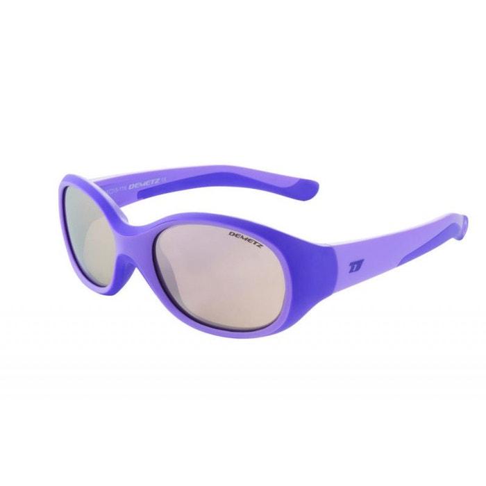 37f08b10890ff2 Lunettes de soleil pour enfant demetz violet chappy violet mat 46 15 violet  Demetz   La Redoute