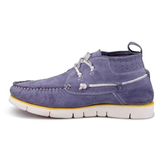 Chaussures bateau bleu Design