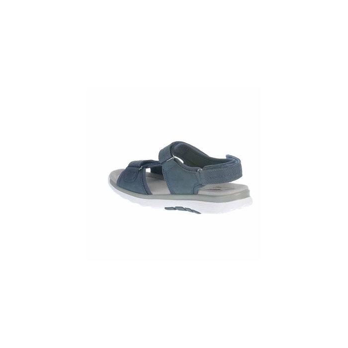 Nu-pieds bleu Gabor