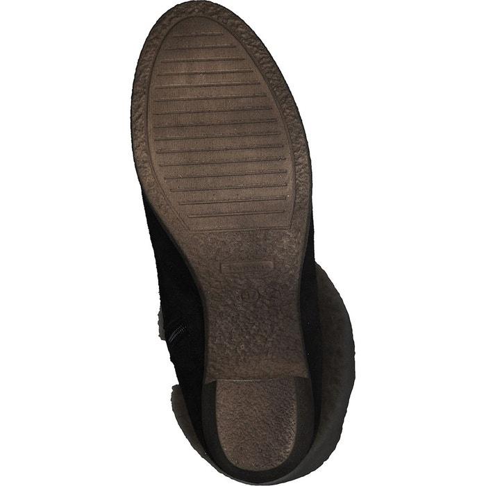 Boots cuir fourrées resia Tamaris