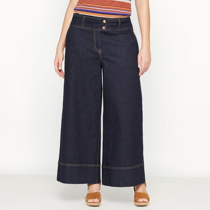 Image Wide Leg Cropped Jeans CASTALUNA