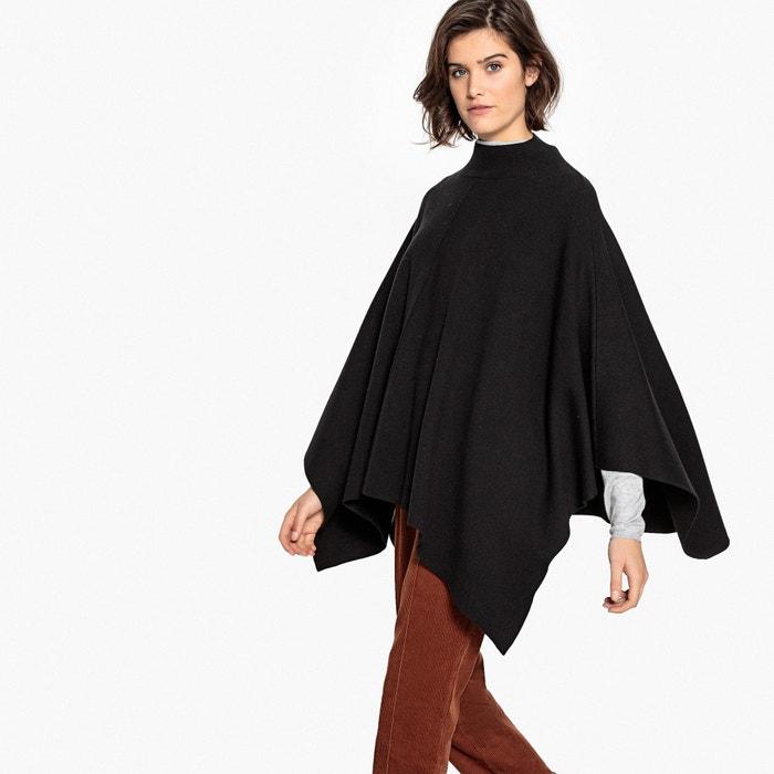 Poncho collo alto maglia milano  La Redoute Collections image 0