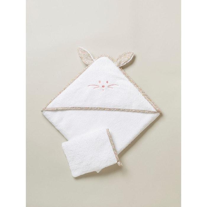 Cape de bain Liberty chat et gant