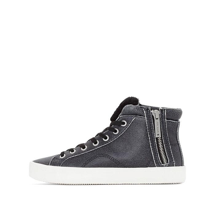 ... Baskets montantes clinton sally noir Pepe Jeans ...