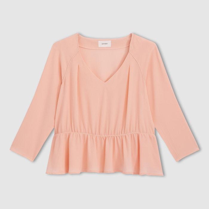 afbeelding Soepele blouse met pandje La Redoute Collections