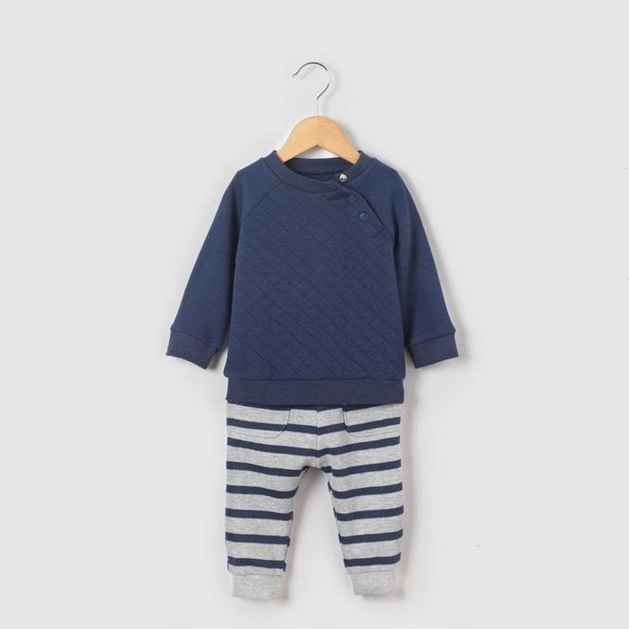 Conjunto sweat e calças de fato de treino, 1 mês-3 anos R mini