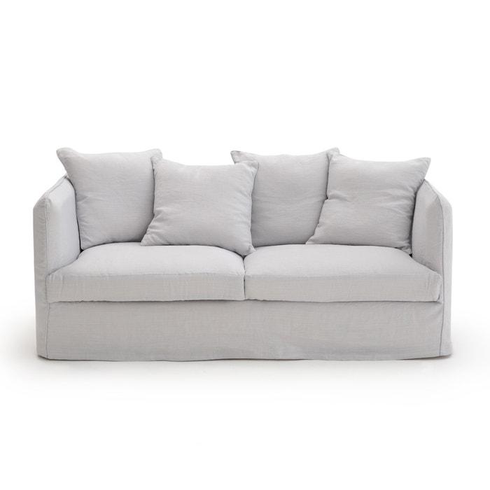 omvormbare canap neo chiquito gekreukt linnen am pm la redoute. Black Bedroom Furniture Sets. Home Design Ideas