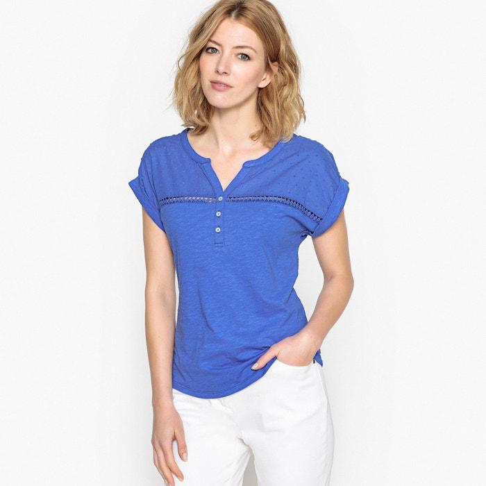 T-shirt di puro cotone fiammato  ANNE WEYBURN image 0
