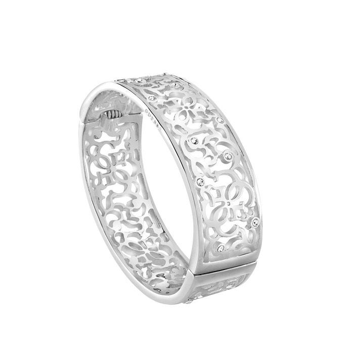 Bracelet métal cristal blanc Guess   La Redoute Officiel Rabais Sast À Vendre Qualité Supérieure Vente En Ligne sIZ5duYZX0