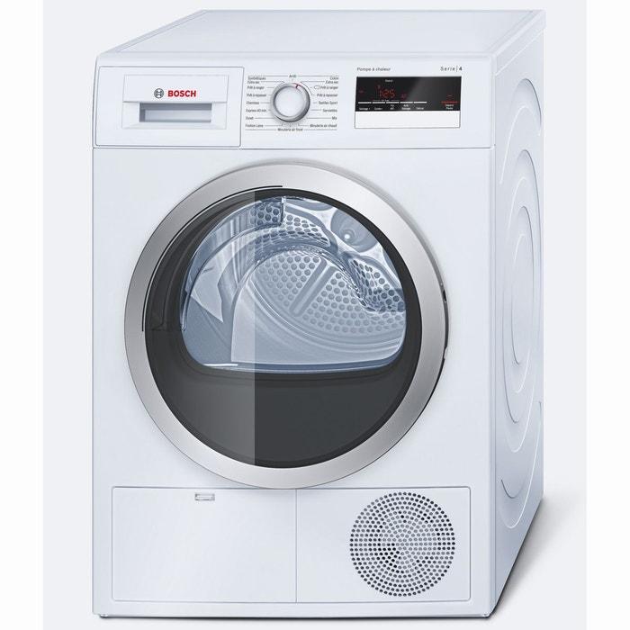 s che linge pompe chaleur s rie 4 wth85290ff blanc bosch la redoute. Black Bedroom Furniture Sets. Home Design Ideas