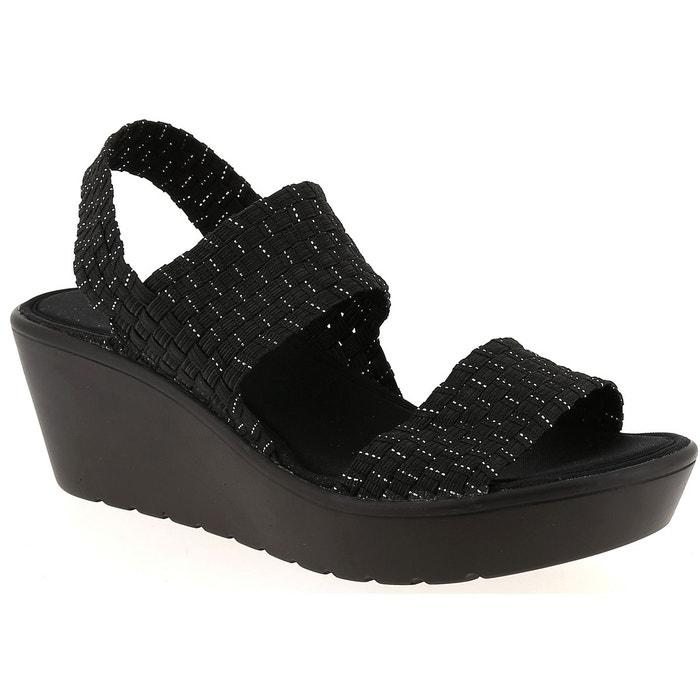 Sandales et nu-pieds coco et abricot v0888a noir Coco Et Abricot