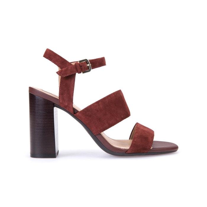 Sandales à talon D Audalies H.San.A, Marron