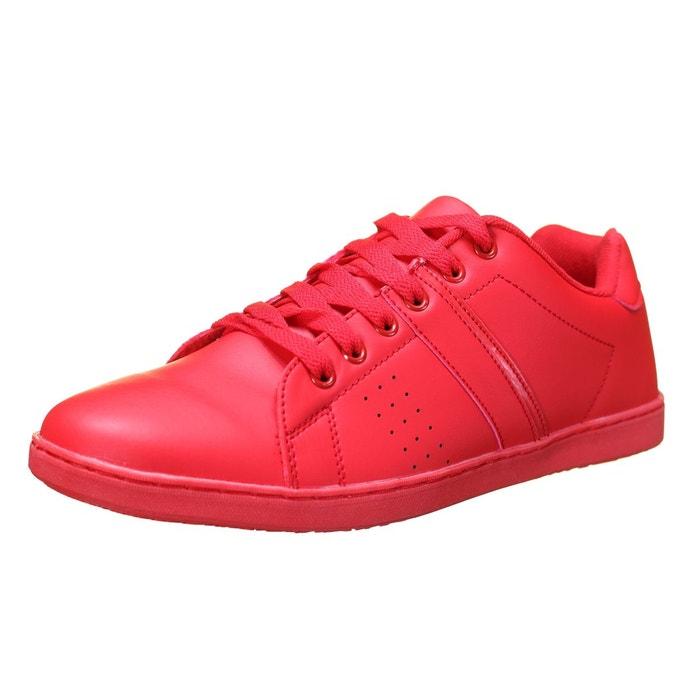 Basket à lacets rouge Reservoir Shoes
