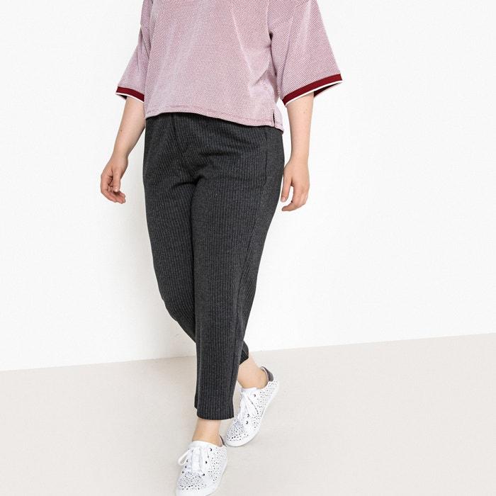 Pantaloni a righe taglio slim  CASTALUNA image 0