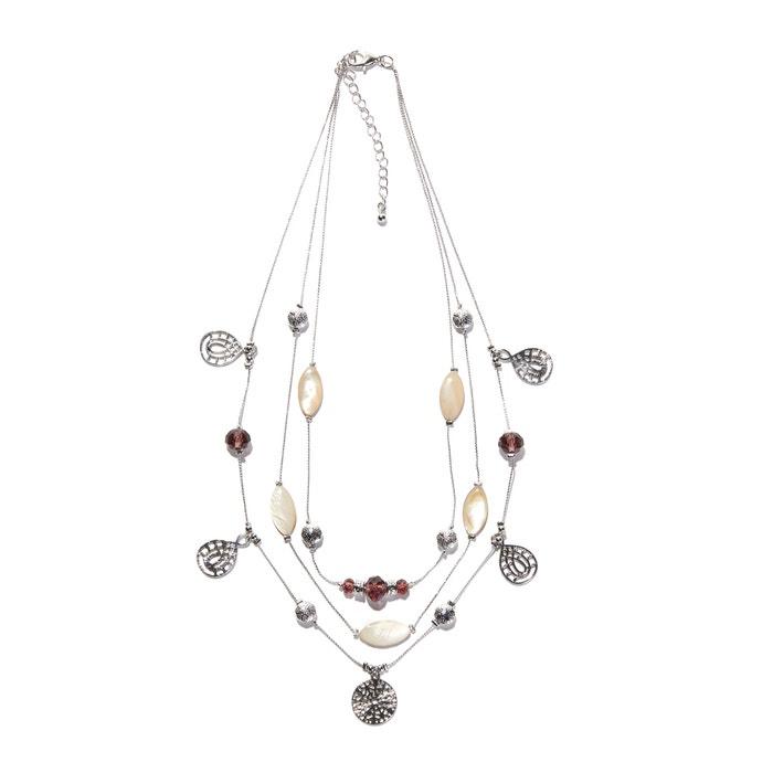 Mehrreihige Halskette mit Anhängern  ANNE WEYBURN image 0