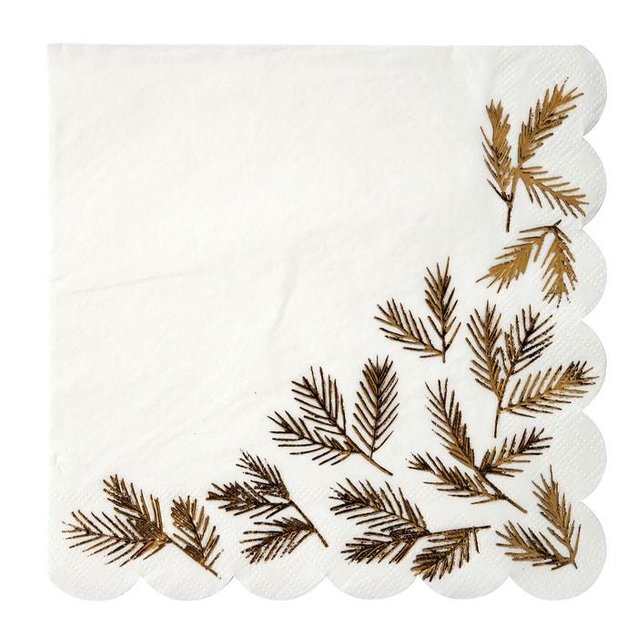 Lasini Paper Napkins (Set of 16)  La Redoute Interieurs image 0
