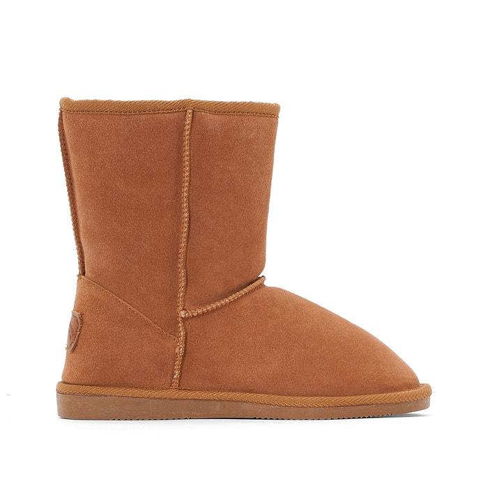 Image Boots cuir fourrées Snow LES TROPEZIENNES PAR M.BELARBI