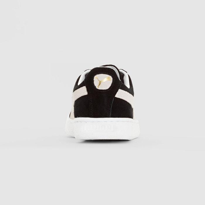 Baskets suede classic + noir/blanc Puma