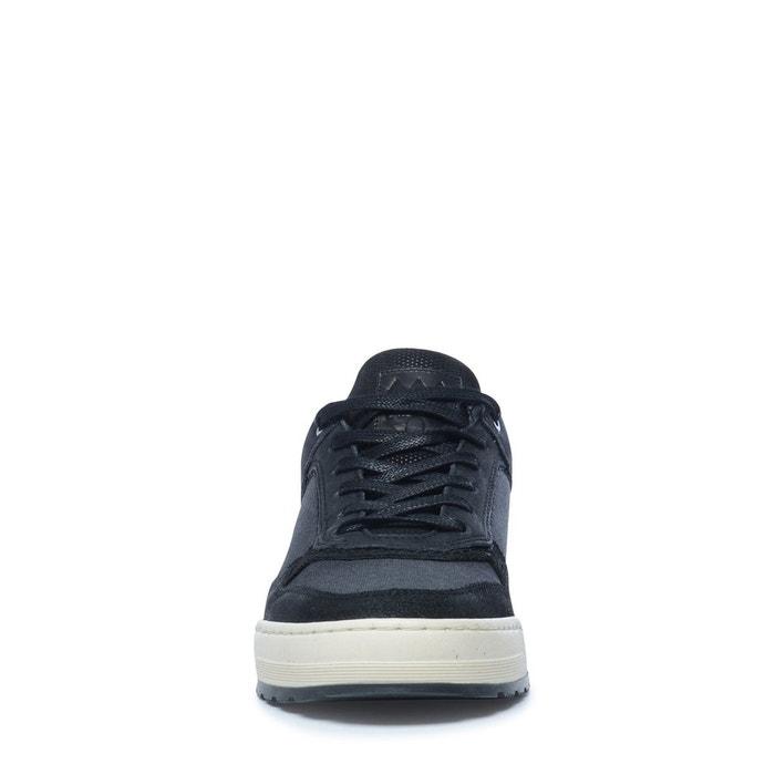 Baskets basses noir Sacha