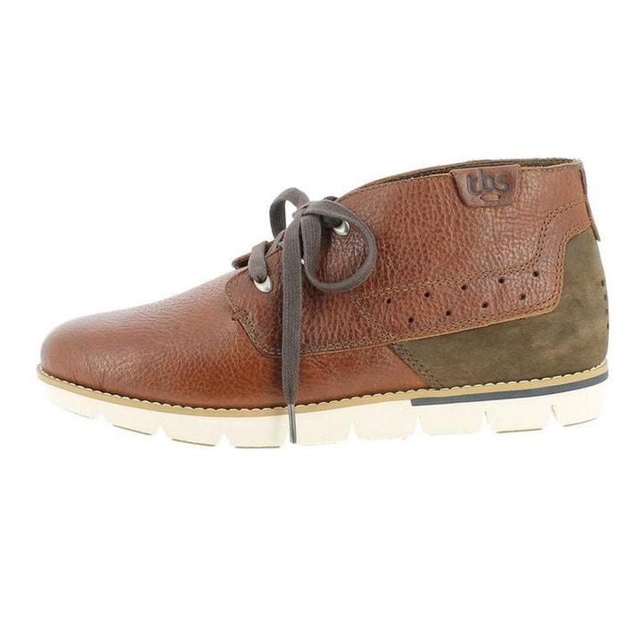 Chaussures à lacets cuir  noir Tbs  La Redoute
