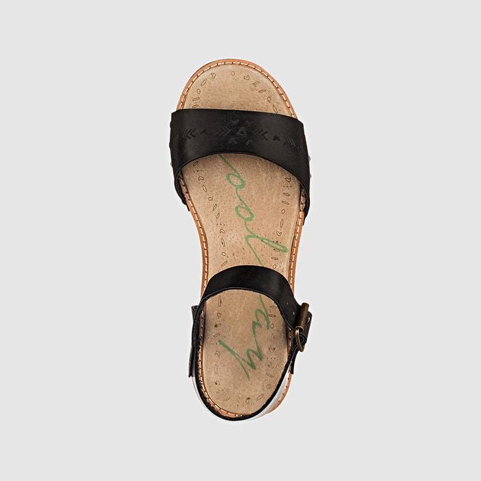 Sandales compensées, Casidi - COOLWAY - NoirCoolway