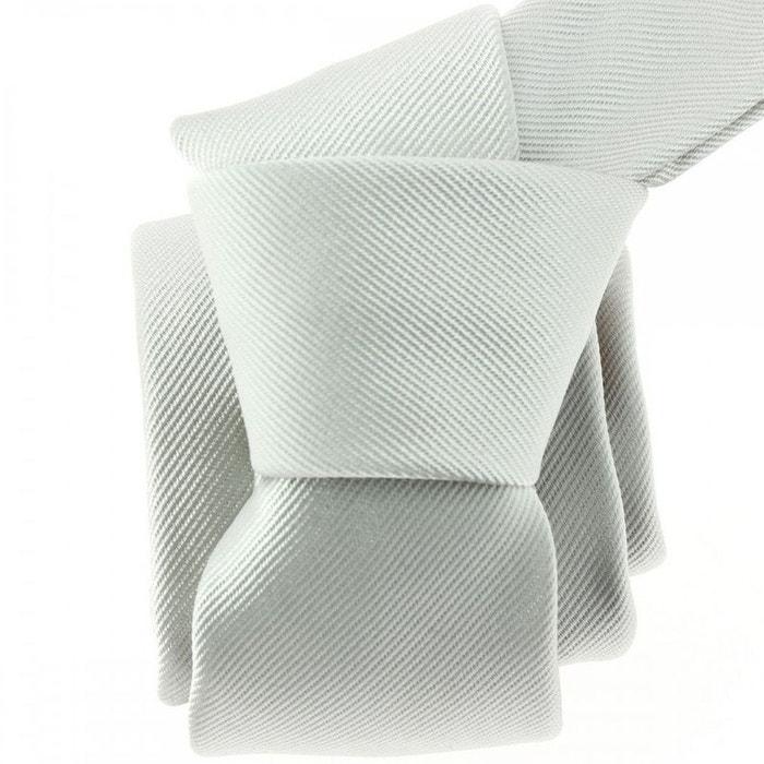 Cravate soie italienne, perla gris Tony Et Paul | La Redoute