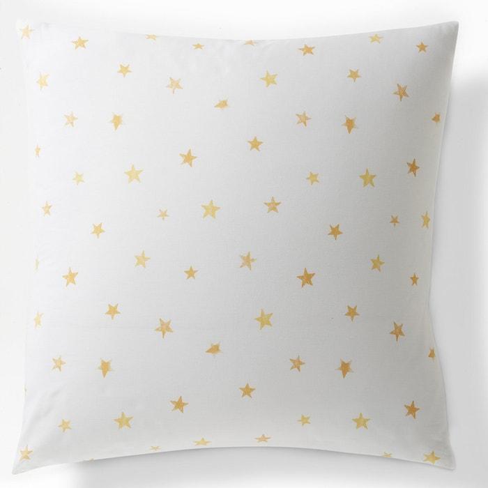 LUNE Printed Cotton Single Pillowcase  La Redoute Interieurs image 0