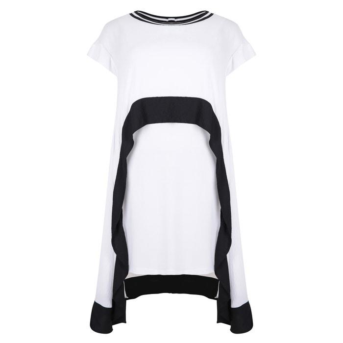 Long Two-Tone Printed Maxi Dress  MAT FASHION image 0