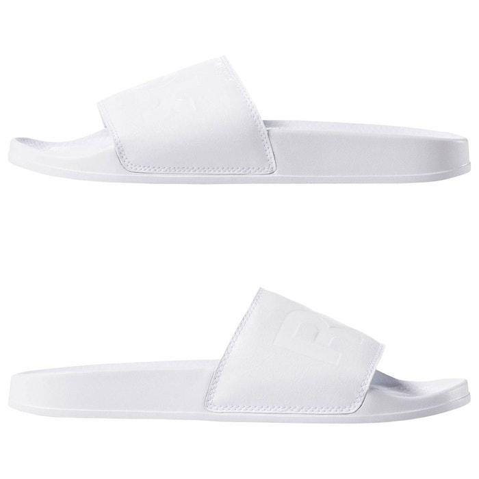 Claquette classic slide blanc Reebok Classics   La Redoute
