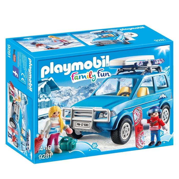 9281 Winter SUV  PLAYMOBIL image 0