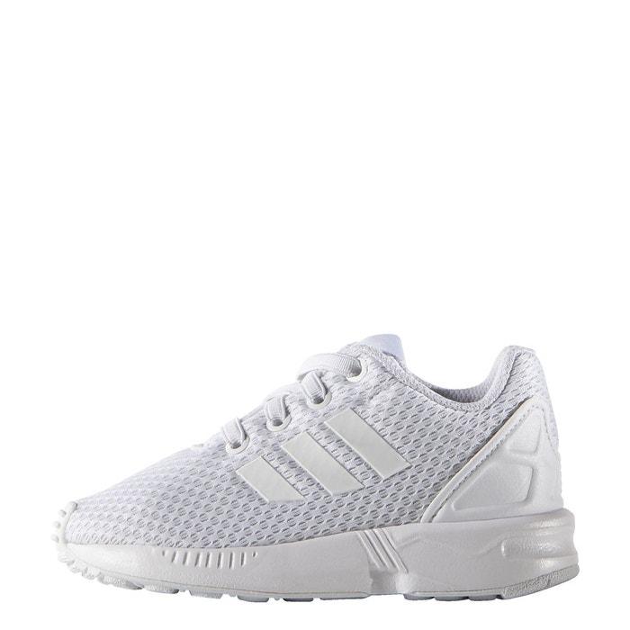 zx flux adidas blanc