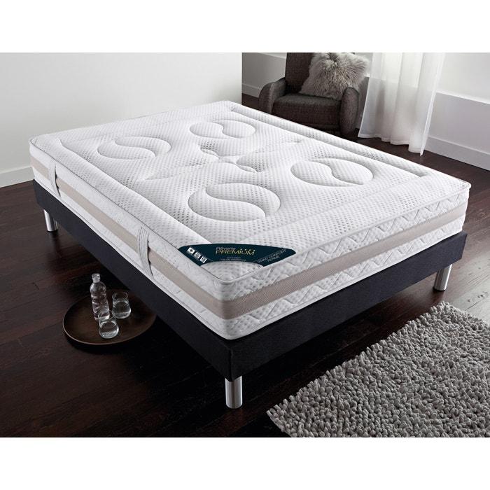 matelas mousse hr grand confort ferme 7 zones reverie blanc la redoute. Black Bedroom Furniture Sets. Home Design Ideas
