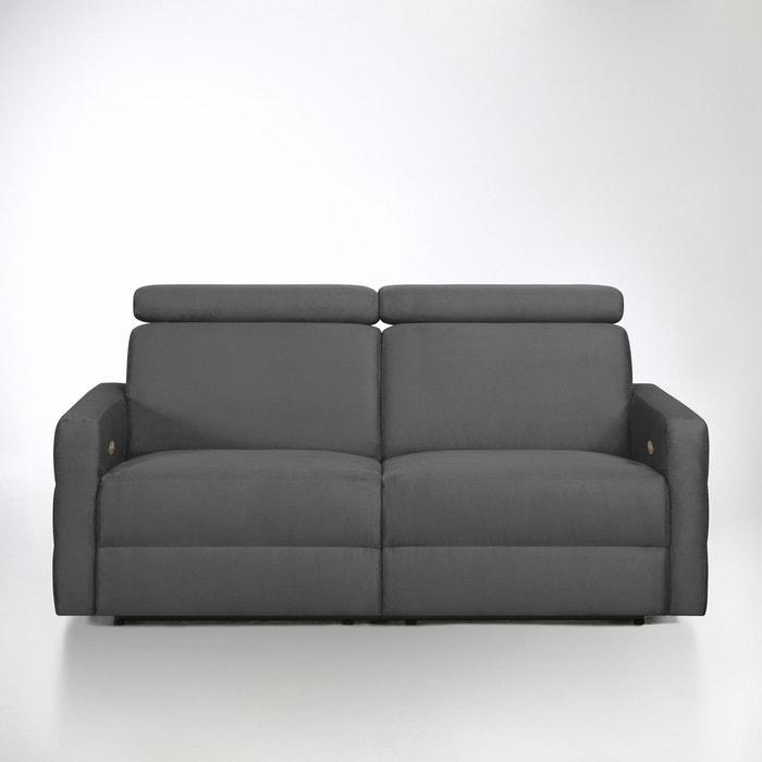 afbeelding Elektrische relax zetel in microvezel, Hyriel La Redoute Interieurs
