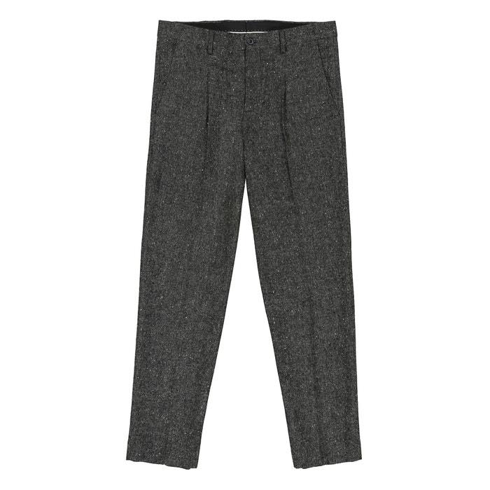 Pantalon chino gris la redoute collections la redoute - La redoute livraison offerte ...