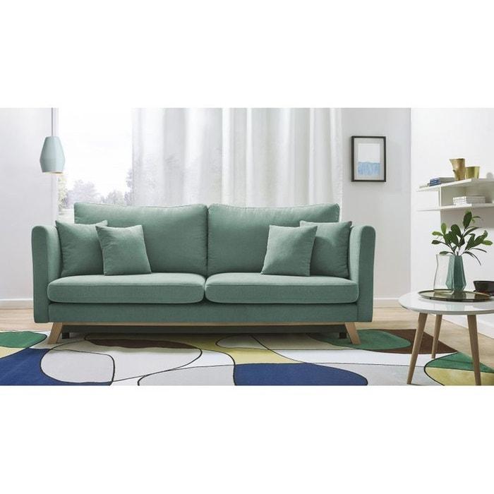 canape 3 places convertible triplo menthe menthe bobochic la redoute. Black Bedroom Furniture Sets. Home Design Ideas