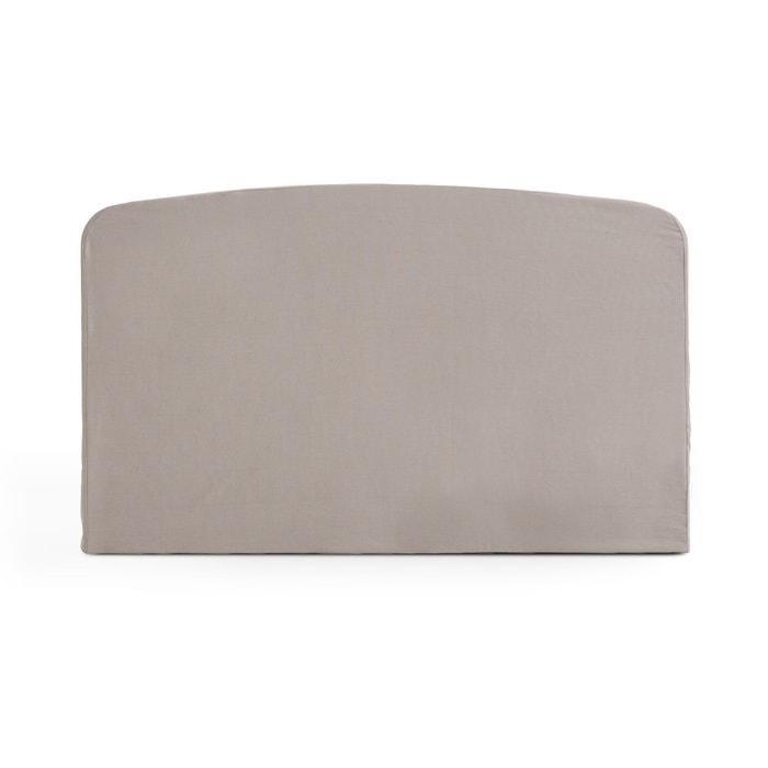 Fodera testata del letto sagomata cotone scenario la redoute interieurs la redoute - Fodera testata letto ...