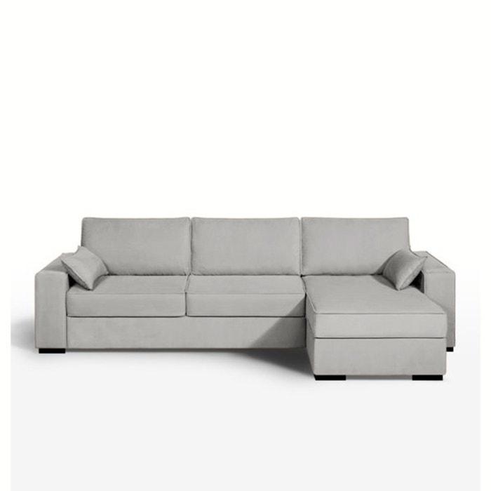 canap d 39 angle convertible coton c cilia la redoute. Black Bedroom Furniture Sets. Home Design Ideas