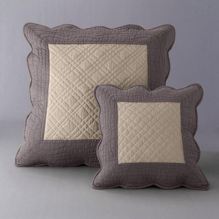 Image Housse oreiller matelassée bicolore SCENARIO