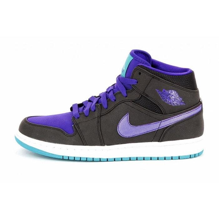 best service 4e466 35f7b Basket nike air jordan 1 mid - 554724-015 noir Nike   La Redoute