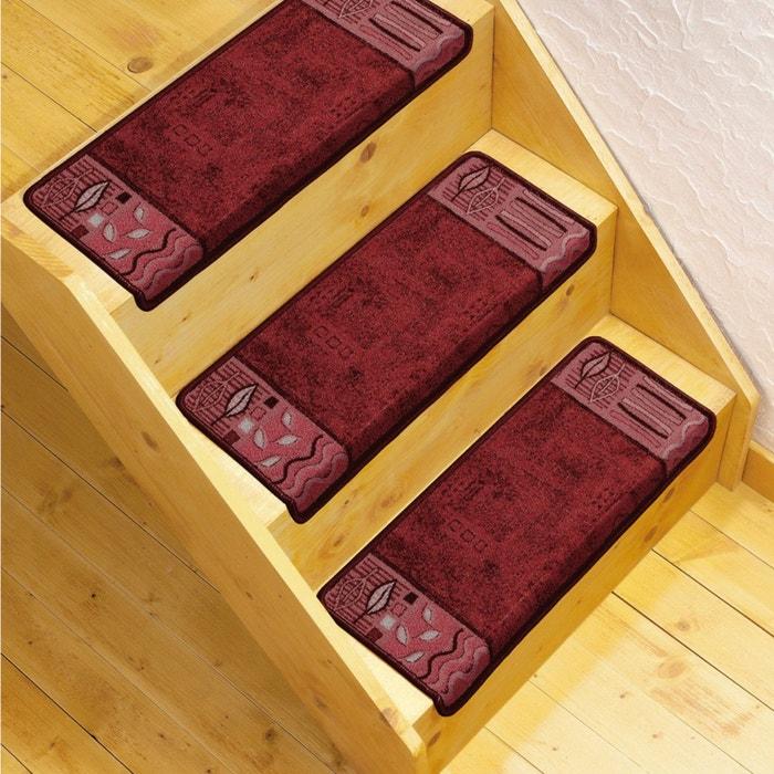 Imagen de Alfombrillas para peldaños de escalera (lote de 3) La Redoute Interieurs